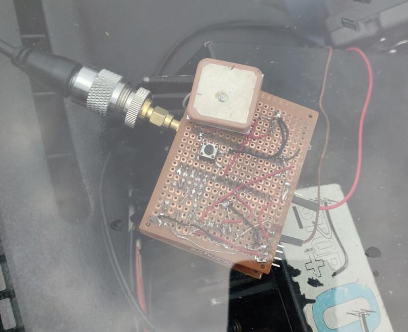 Tracker APRS à base d'Arduino et de DRA818V